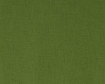 SALE!! Deep Olive Solid Fabric By the Yard