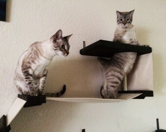 Cat Playplace - Cat Hammock Shelves