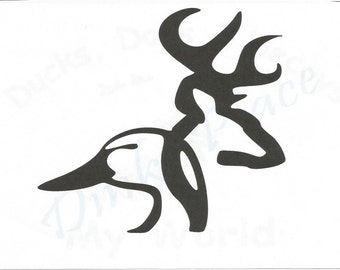 Browning buck on browning deer clip art