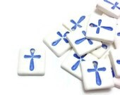 Baptism Witness Pins, Baptism Favors, Baptism Crosses, Clay Tags, Baptism Pins, Martirika, Religious Gifts, Baby Boy Shower Gift