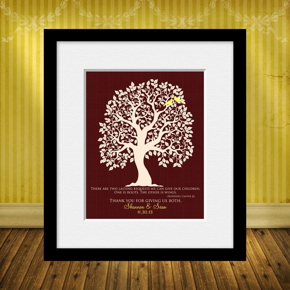 Gift Ideas For Parents Paying For Wedding : Thank You GIFT FOR PARENTS, Thank You Gift for Mom and Dad, Hodding ...