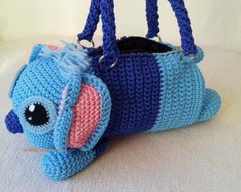 Handmade crochet handbag  birthday gift, perfect to every girls.