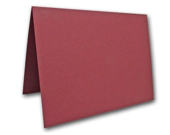 Burgundy Place Cards 25 pack
