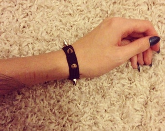 Spiked wristband