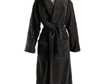 popular items for monogram bathrobe on etsy. Black Bedroom Furniture Sets. Home Design Ideas