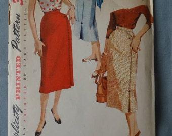 1950s Simpicity Pattern #4769 26 waist