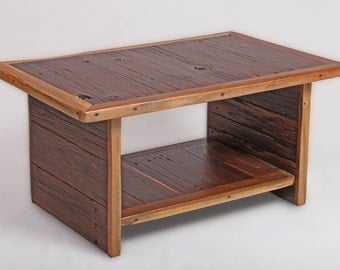 Coffee table - Rustic coffee table - Upcycled coffee table  - Reclaimed Wood Coffee Table