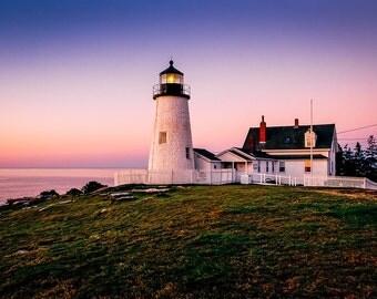 Pemaquid Point Lighthouse at Dawn - Fine Art Photography - William Britten