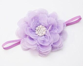 Nancy headband - lavender