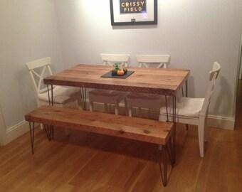 Reclaimed Wood Kitchen Island Bar 4x4 By Urbanwoodfurnishings