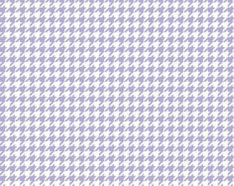 Lavender houndstooth craft  vinyl sheet - HTV or Adhesive Vinyl -  light purple and white pattern vinyl  HTV412