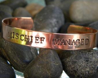 Mischief Managed - Copper