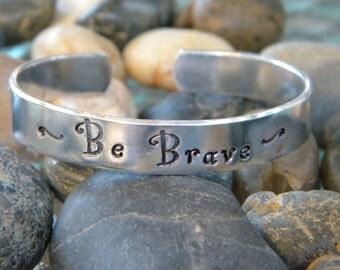 Be Brave Cuff Bracelet