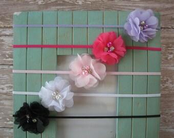 Dainty headbands / Dainty headband set / Baby shower gift / Headband package / Newborn photo prop / Baby headband / Girls headband
