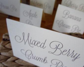 Pie Signs, Dessert Signs