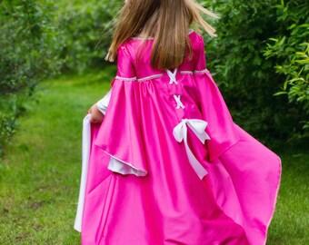 renaissance princess dress, Halloween costume, girls costume, made to order