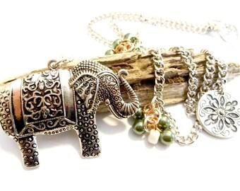 Items similar to silver and gold beaded curtain tiebacks home decor window treatments on etsy Silver elephant home decor