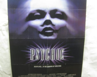 Psychic 1991 Movie Poster mp128