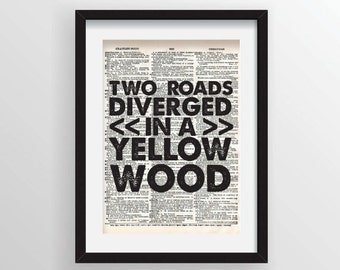 Road Not Taken Etsy