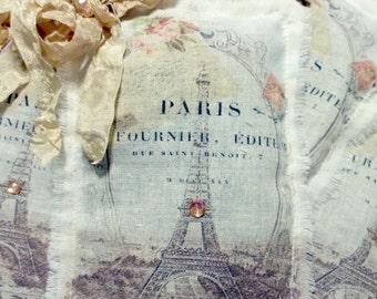 French Inspired Eiffel Tower Lavender Sachet