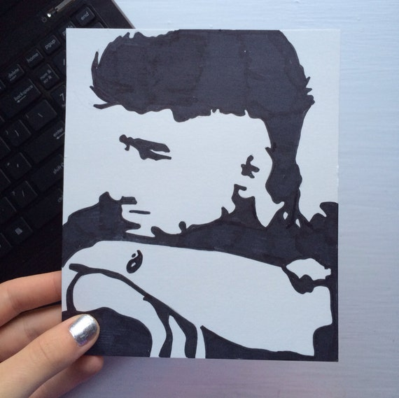 Zayn Malik Pop Art 1D One Direction by SamsPopArt on Etsy