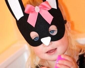 Easter Mask/ Bunny Masks/ Easter Bunny/ Easter Basket filler/ Easter party  Favor
