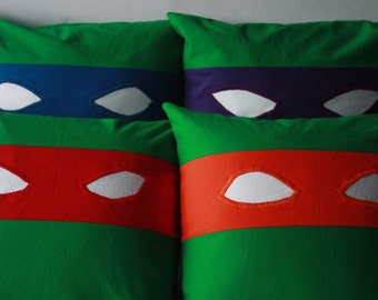Teenage Mutant Ninja Turtles Baby Pillows
