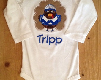 Little Boy Turkey Shirt or Baby Bodysuit