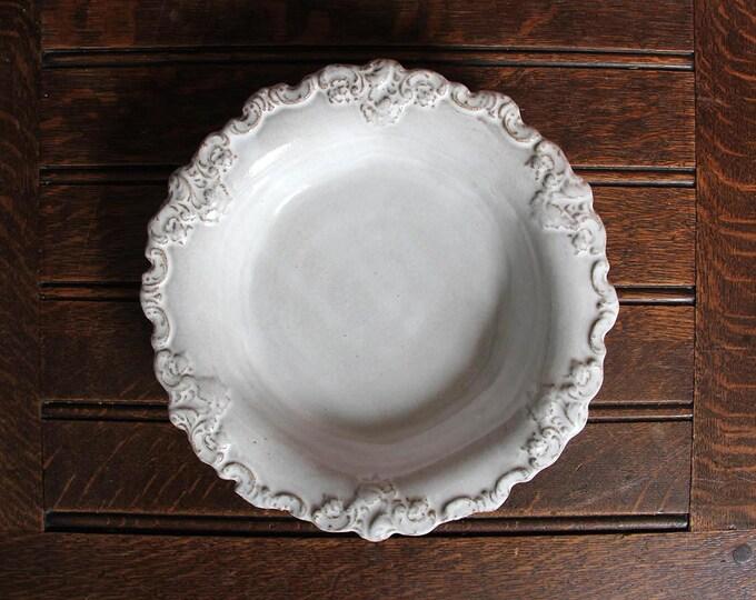Baroque Dinner Bowl