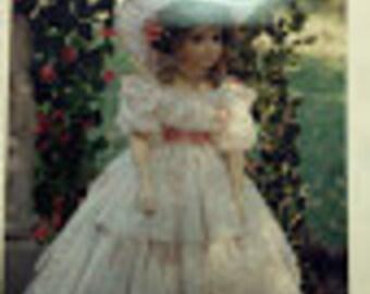 Southern Belle Doll Dress Pattern, BS-405-11