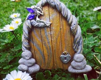 Fairy doors and fairy garden accessories by for Elf door accessories