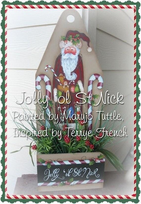 Jolly ol St. Nick by Maryjo Tuttle E-Pattern