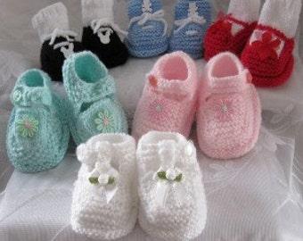 Happy Feet - Hand Knit Pattern