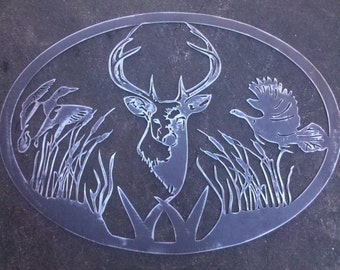 Wildlife Wall Art or Gate Insert