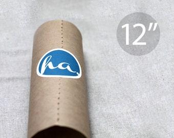 "12"" Kraft Wrapping Paper Roll - 180 feet (60 yards) – Lightweight"