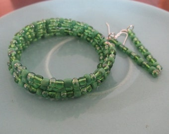 IVY Bracelet and Earrings