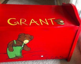 Personalized Storage Box