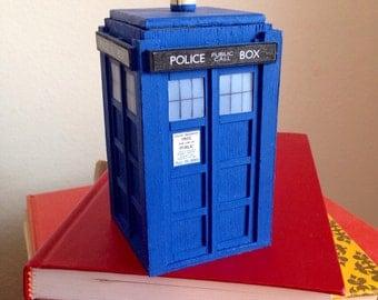 Doctor Who Inspired Miniature Handmade TARDIS