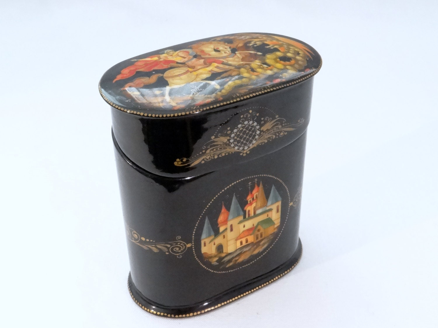 Russian Lacquer Boxes 106