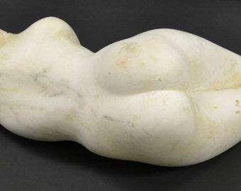"Original Salvatore Lacca fine art marble sculpture torso ""Galatea"""