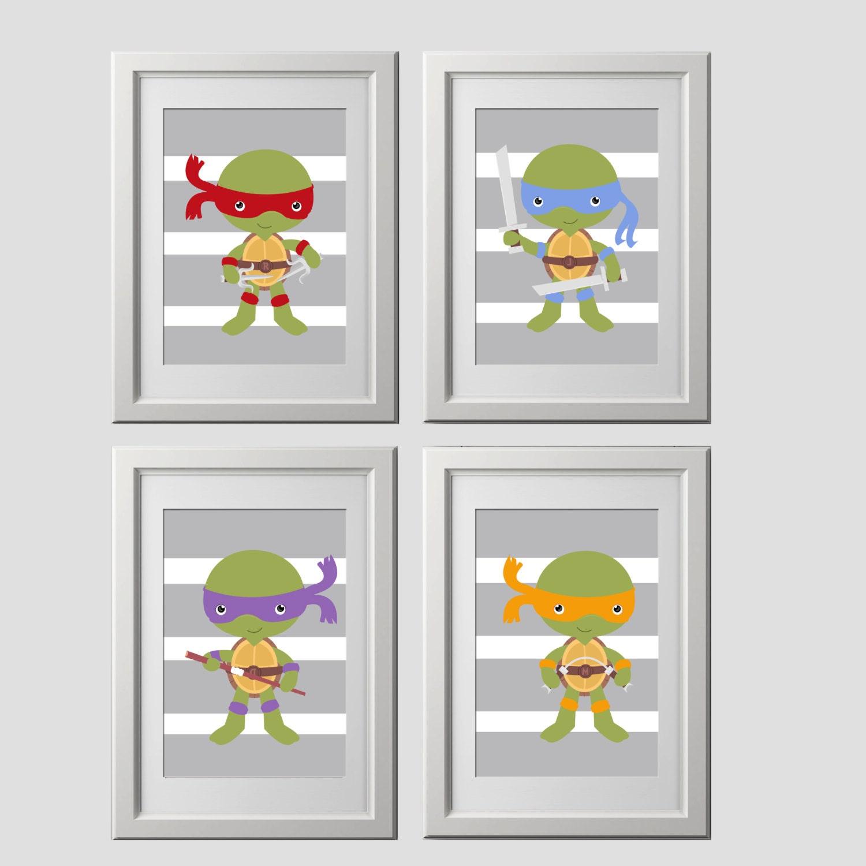 Teenage Mutant Ninja Turtles Wall Art Prints Shipped To Your