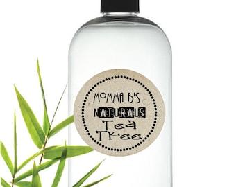 All Natural Cleansing Tea Tree Oil Shampoo SLS & Paraben Free