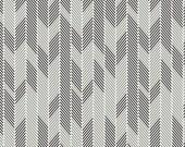 Minimalista Darts Noir by AGF Studio - 1 yard  Black, gray, and white textural herringbone