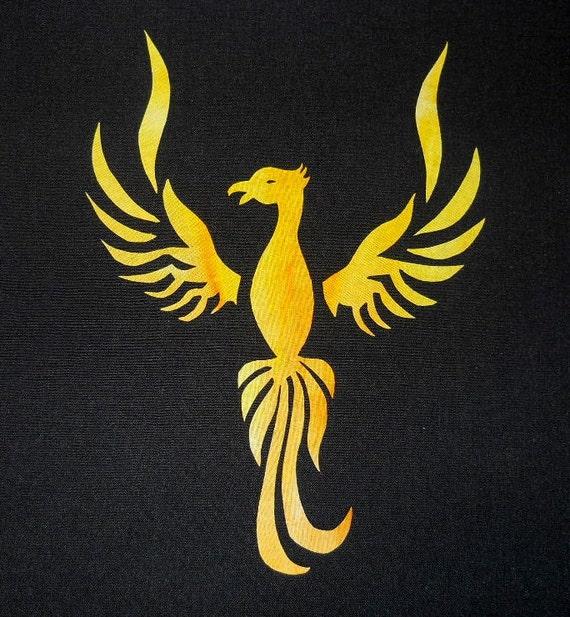 Phoenix Quilt Applique Pattern Design