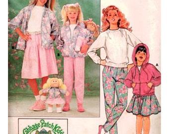Butterick Sewing Pattern 3996 Girls' Jacket, Skirt, Pants  Used  Size:  7-8-10