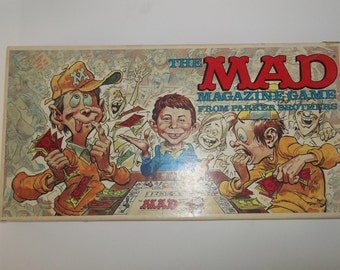Vintage Mad Magazine Game 1979 Parker Brothers, Complete Set