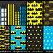 Superhero 4 Scrapbook Papers, 12 x 12, Commercial Use, Digital, Instant Download, Super Hero, DIY Birthday Invitation, DIY Party Favors