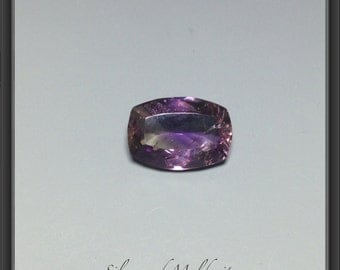 Amethyst faceted rectangle 5.00ct