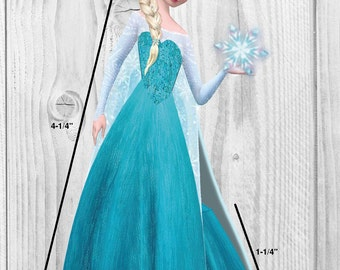 Disney Frozen Elsa Editable Favor Box