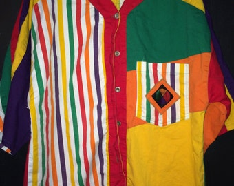 vintage cross colors shirt